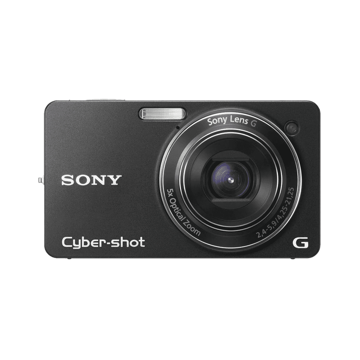 10.2 Megapixel W Series 5X Optical Zoom Cyber-shot Compact Camera (Black), , product-image