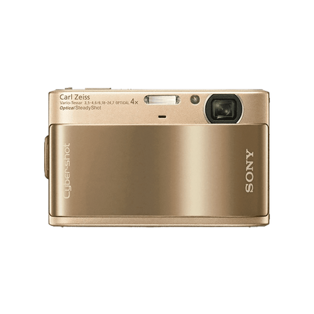 10.2 Megapixel T Series 4X Optical Zoom Cyber-shot Compact Camera (Gold)