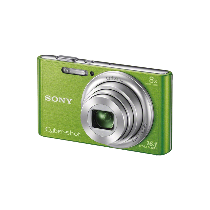 16.1 Megapixel W Series 8X Optical Zoom Cyber-shot Compact Camera (Green), , product-image
