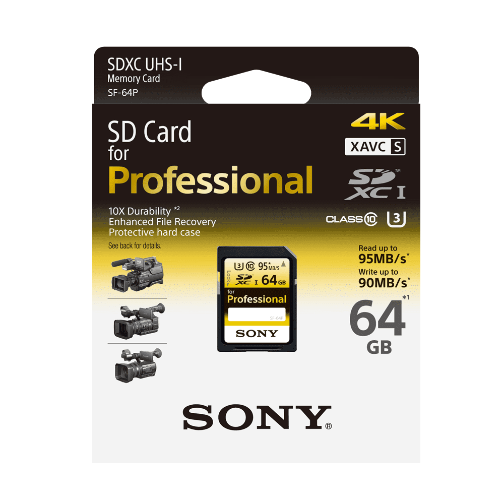 64GB PRO SD MEMORY CARD, , product-image