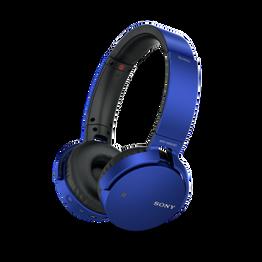 XB650BT EXTRA BASS Bluetooth Headphones (Blue), , hi-res