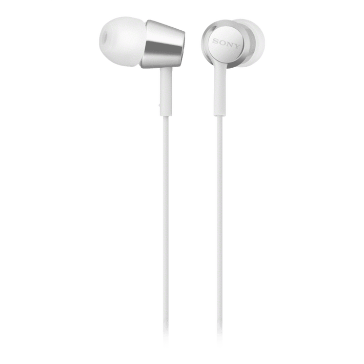 EX155AP In-Ear Headphones (White), , product-image