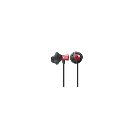 ED12 Fontopia / In-Ear Headphones (Red)
