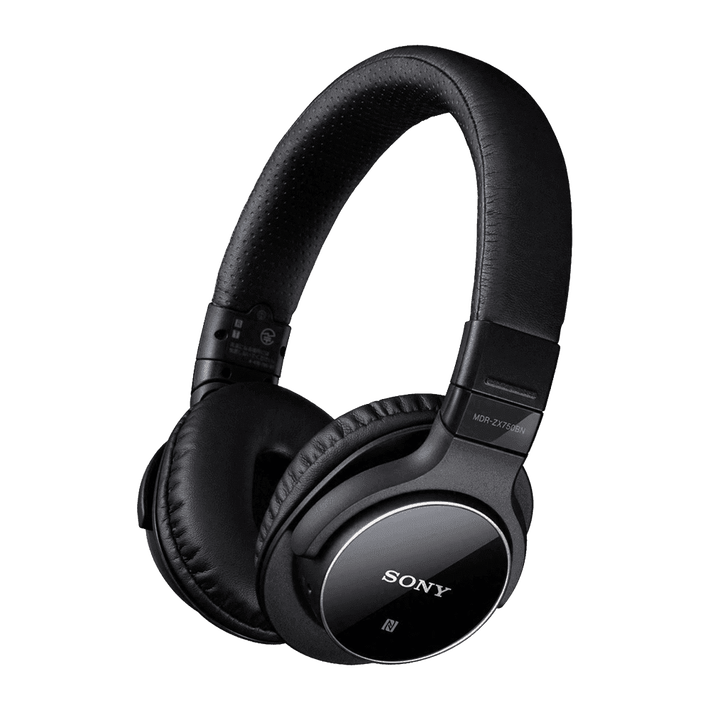 Bluetooth and Digital Noise Cancelling Headphones (Black), , product-image