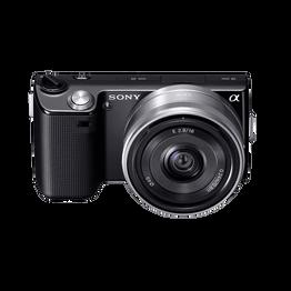 14.2 Megapixel Camera (Black) with SEL16F28 Lens, , lifestyle-image