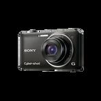 12.2 Megapixel W Series 5X Optical Zoom Cyber-shot Compact Camera (Black), , hi-res