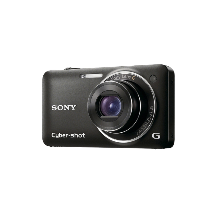 12.2 Megapixel W Series 5X Optical Zoom Cyber-shot Compact Camera (Black), , product-image