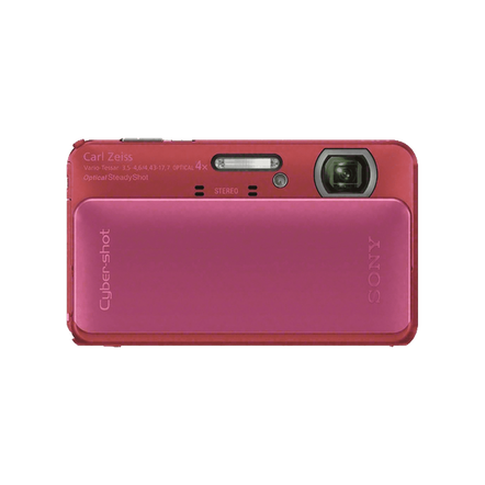 16.2 Megapixel T Series 4X Optical Zoom Cyber-shot Compact Camera (Pink)