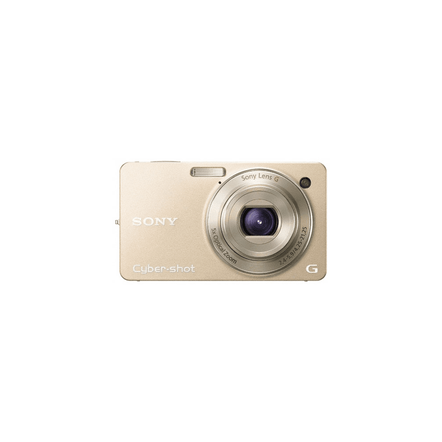 10.2 Megapixel W Series 5X Optical Zoom Cyber-shot Compact Camera (Gold)