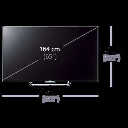 65 w850c full hd tv. Black Bedroom Furniture Sets. Home Design Ideas