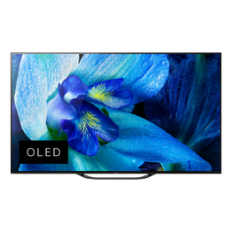 "55"" A8G OLED 4K Ultra HD Android TV with Acoustic Surface Audio , , hi-res"