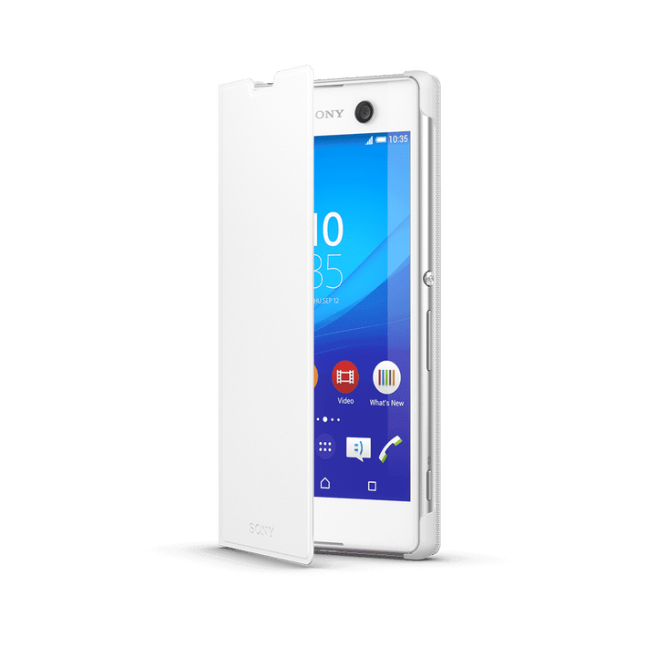Style Cover Stand for Xperia T2 Ultra SCR14 (White), , product-image