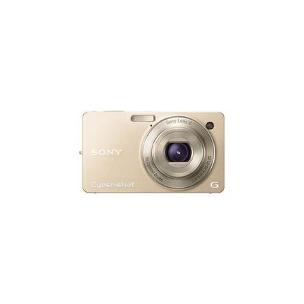 10.2 Megapixel W Series 5X Optical Zoom Cyber-shot Compact Camera (Gold), , hi-res
