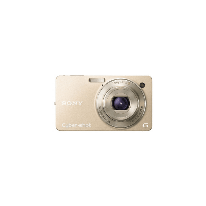 10.2 Megapixel W Series 5X Optical Zoom Cyber-shot Compact Camera (Gold), , product-image