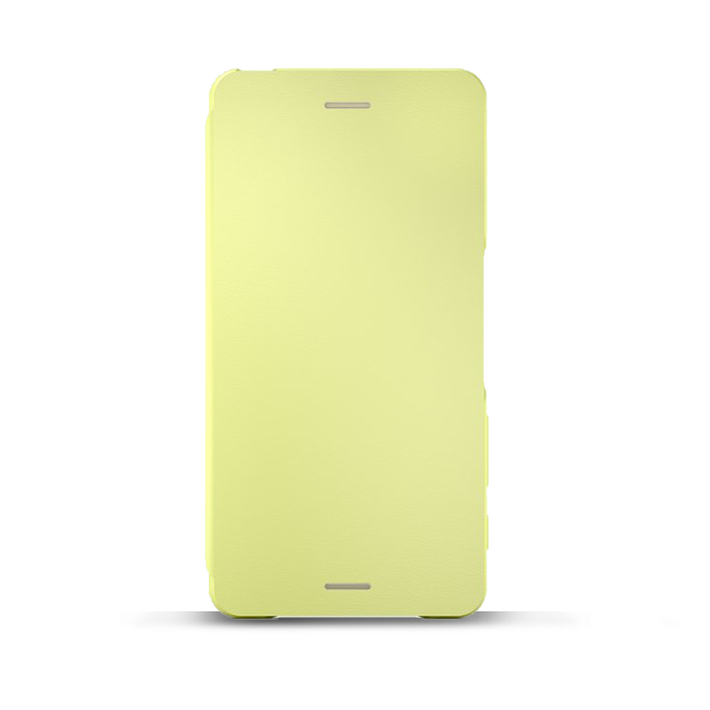 Style Cover Flip SCR58 for Xperia X Performance (Lime Gold), , product-image