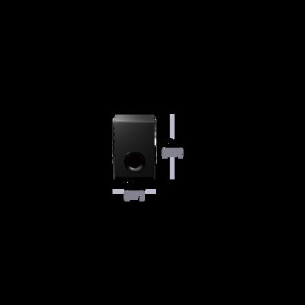 2.1ch Sound Bar with Bluetooth, , hi-res