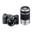 NEX-6 16.1 Mega Pixel Camera with SELP1650 and SEL55210 Lens