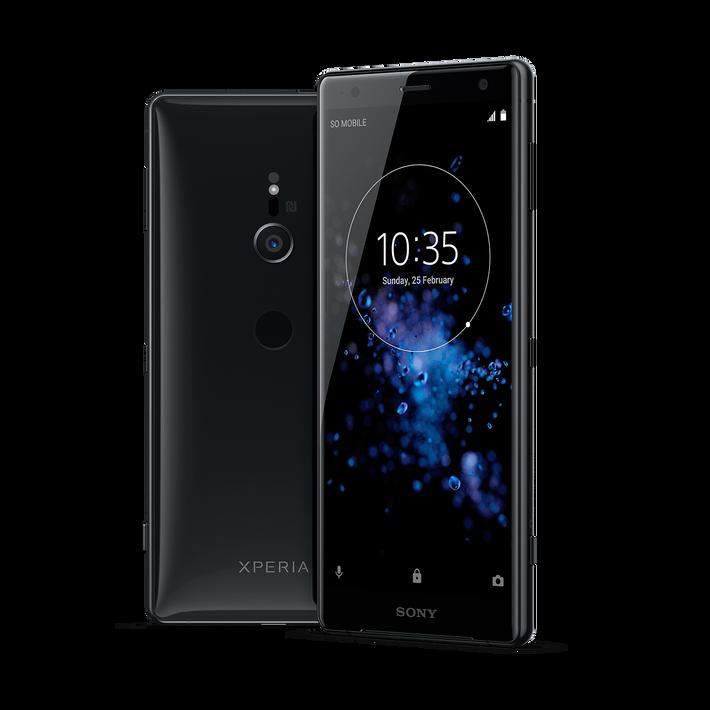 Xperia XZ2 Dual Sim  (Liquid Black), , product-image