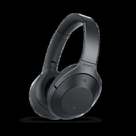 1000X Noise Cancelling Bluetooth Headphones (Black), , hi-res
