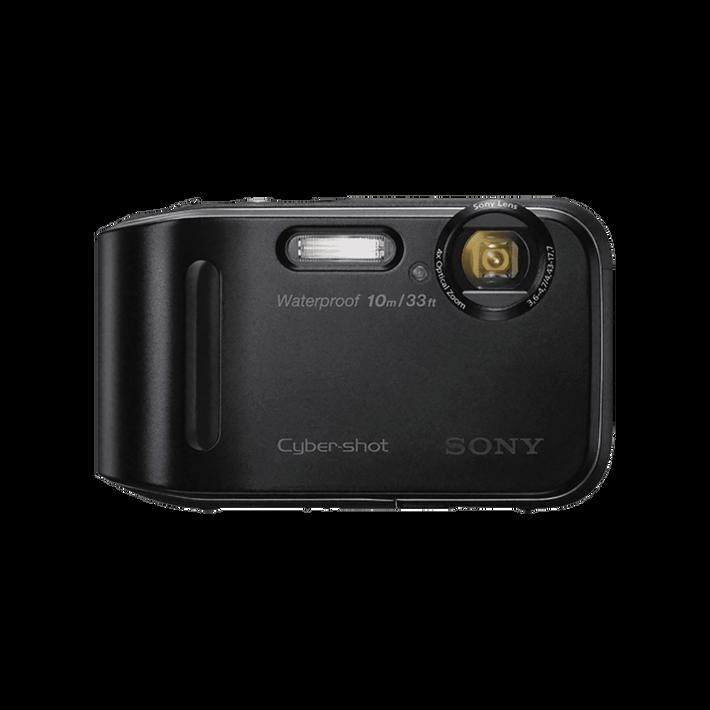 16.1 Mega Pixel T Series 4x Optical Zoom Cyber-shot (Black), , product-image