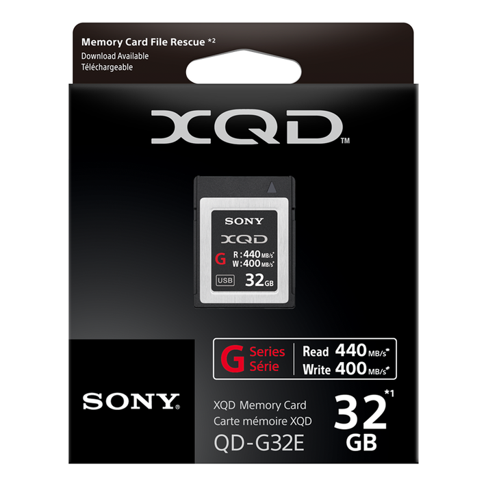 XQD G Series 32GB Memory Card, , product-image