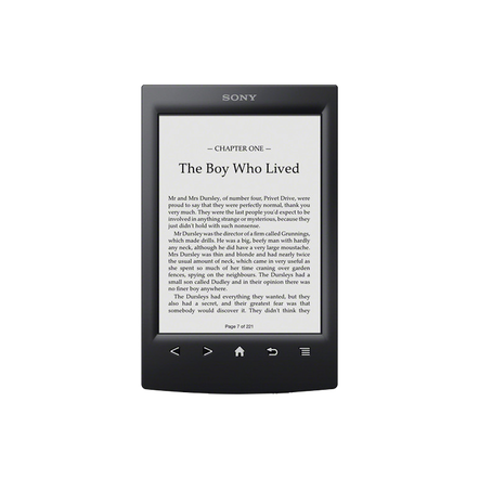 T2 Reader with 6.0 Paper-Like Touch Screen with Complimentary Harry Potter Ebook (Black), , hi-res