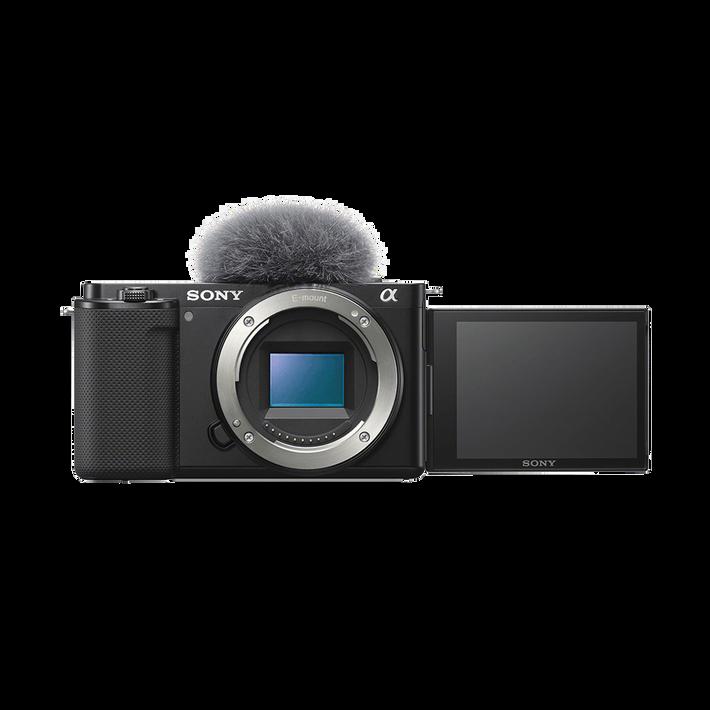 ZV-E10   Interchangeable Lens Vlog Camera (Black), , product-image