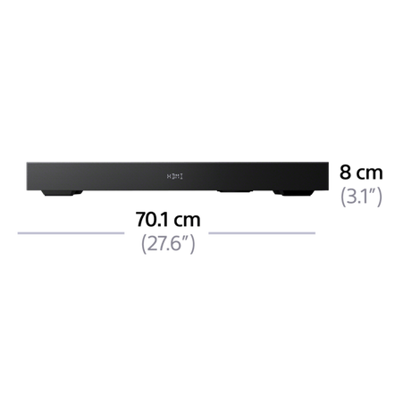 2.1ch TV Base Speaker with Bluetooth, , hi-res