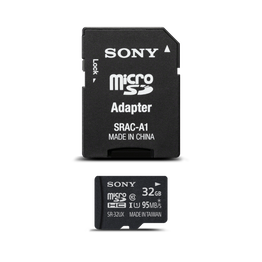 32GB UX Micro SD Memory Card and Adapter