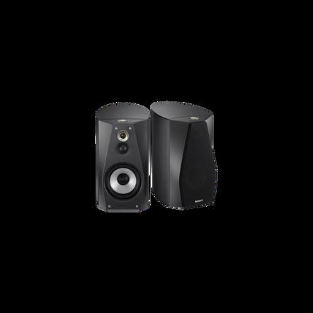 High-Resolution Audio Stereo Bookshelf Speakers (Silver), , hi-res