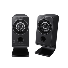 Desktop / Multimedia Portable Speakers (Black)