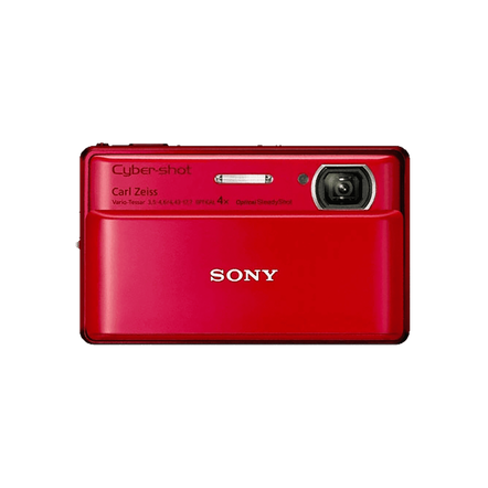 16.2 Megapixel T Series 4X Optical Zoom Cyber-shot Compact Camera (Red)