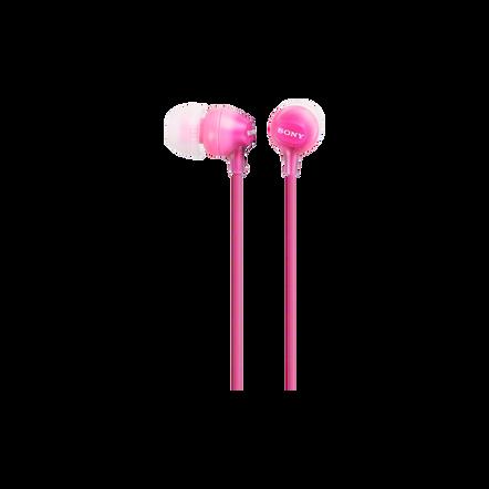 In-Ear Lightweight Headphones (Pink), , hi-res