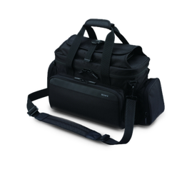 Soft carry case protects camcorder plus accessories against dust and scratches, , hi-res