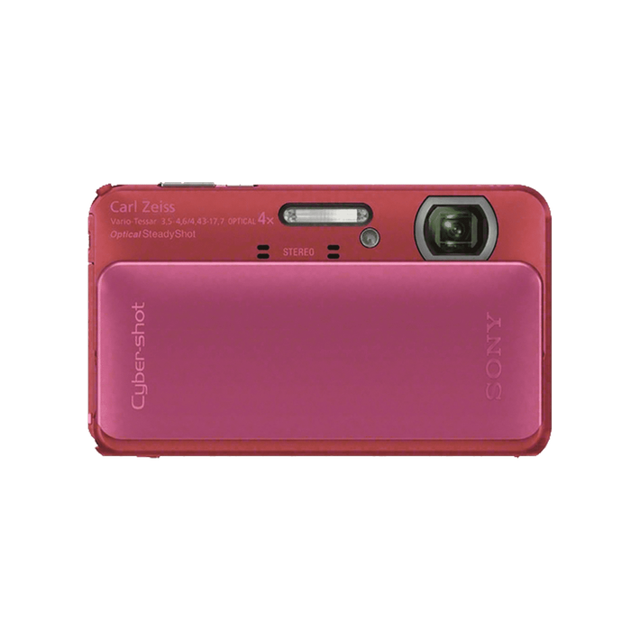 16.2 Megapixel T Series 4X Optical Zoom Cyber-shot Compact Camera (Pink), , product-image