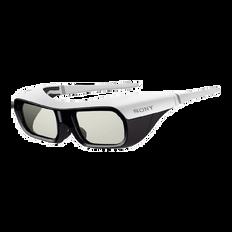 Small Active Shutter 3D Glasses for BRAVIA Full HD 3D TV (White)