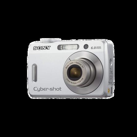 6.0 Megapixel S Series Cyber-shot Compact Camera  (Black), , hi-res