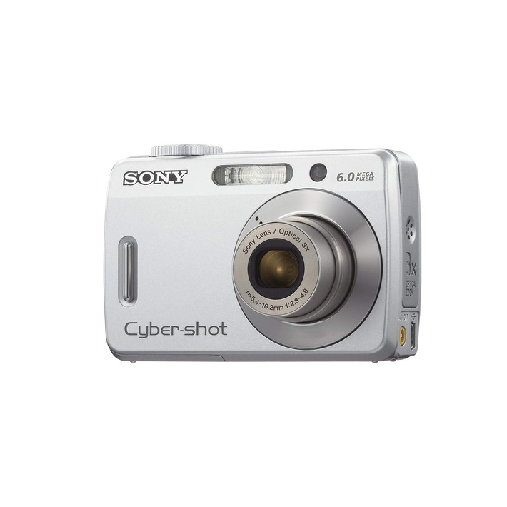 6.0 Megapixel S Series Cyber-shot Compact Camera  (Black), , product-image