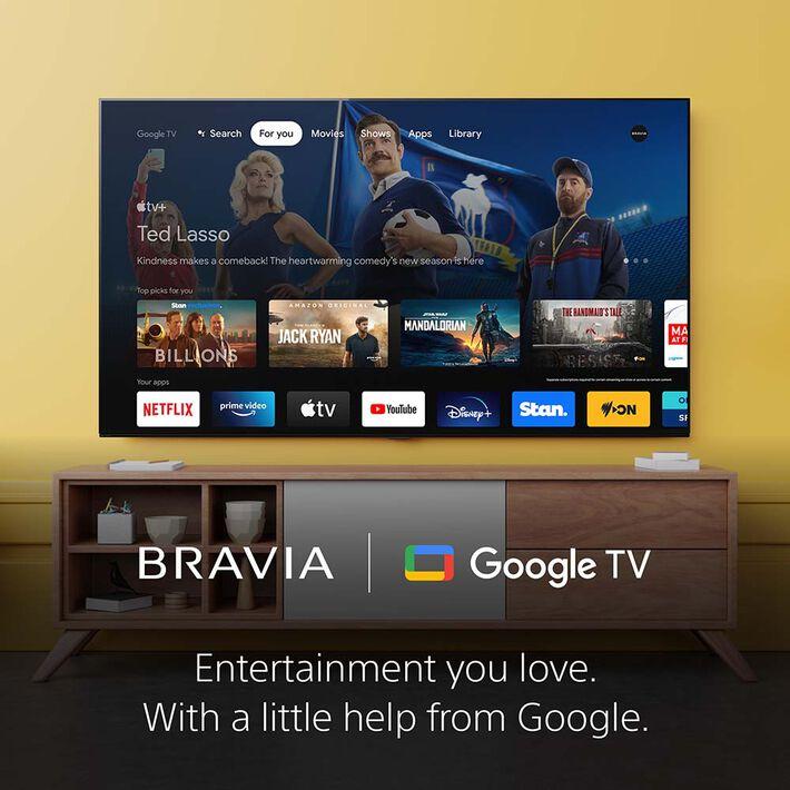 "55"" X90J   BRAVIA XR   Full Array LED   4K Ultra HD   High Dynamic Range   Smart TV (Google TV), , product-image"