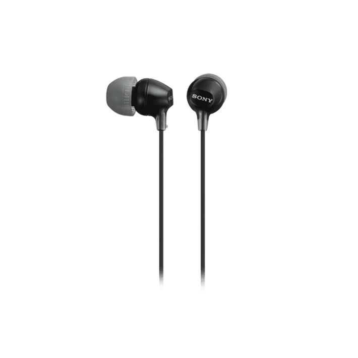 In-Ear Lightweight Headphones with Smartphone Control (Black), , product-image