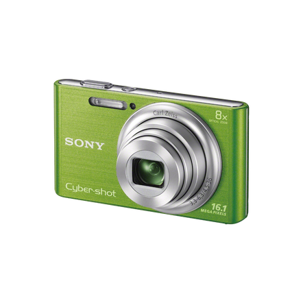 16.1 Megapixel W Series 8X Optical Zoom Cyber-shot Compact Camera (Green)