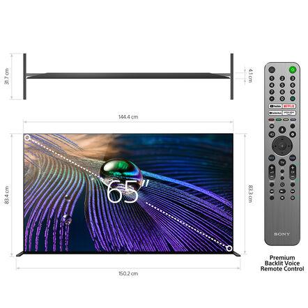 "65"" A90J | BRAVIA XR | MASTER Series OLED | 4K Ultra HD | High Dynamic Range | Smart TV (Google TV), , hi-res"