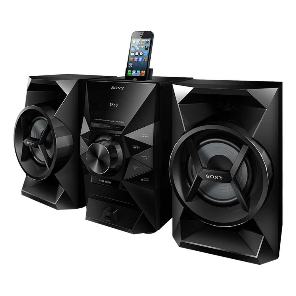 iPod / iPhone Dock Mini Hi-Fi System, , hi-res