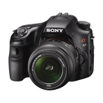 a57 Digital SLT 16.1 Mega Pixel Camera with SAL1855 and SAL55200 Lens, , hi-res