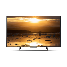 "43"" X8000E 4K HDR TV with  4K X-Reality PRO, , lifestyle-image"