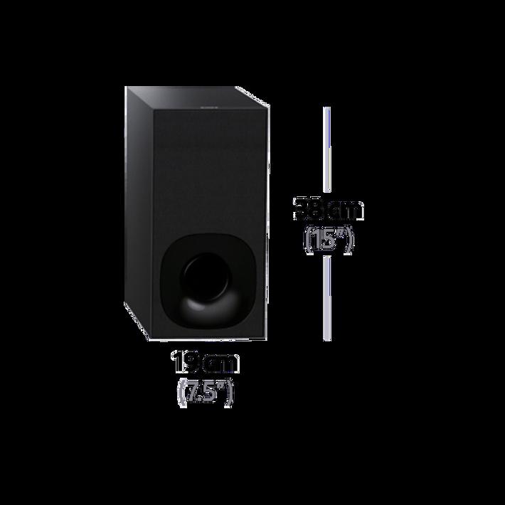 2.1ch Soundbar with Wi-Fi/Bluetooth, , product-image