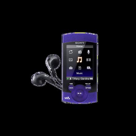 8GB S Series Video MP3/MP4 Walkman (Violet)