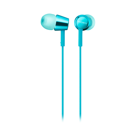 EX155AP In-Ear Headphones (Light Blue)