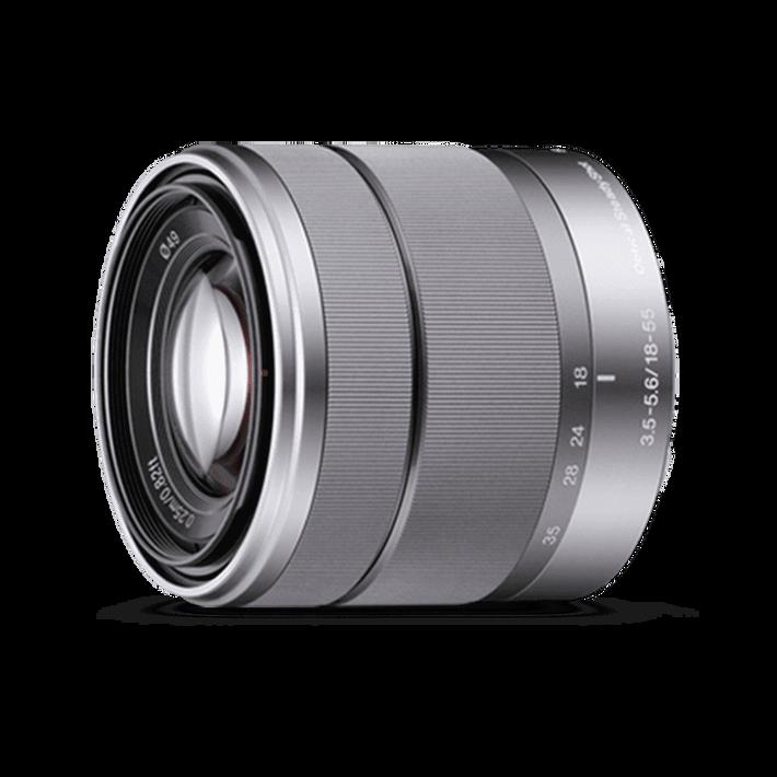 SEL-1855 E-Mount 18-55mm F3.5-5.6 OSS Lens, , product-image