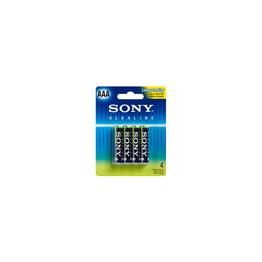 Alkaline Blue AAA Size 4-PC Blister Pack